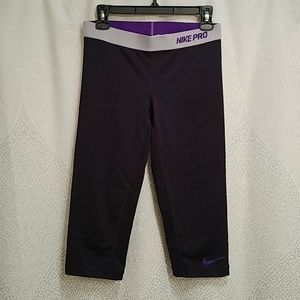 Nike Pro compression Capri Dri-Fit